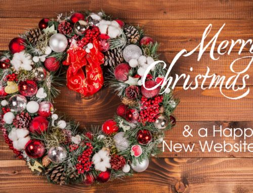 Merry Christmas & Happy New Website!
